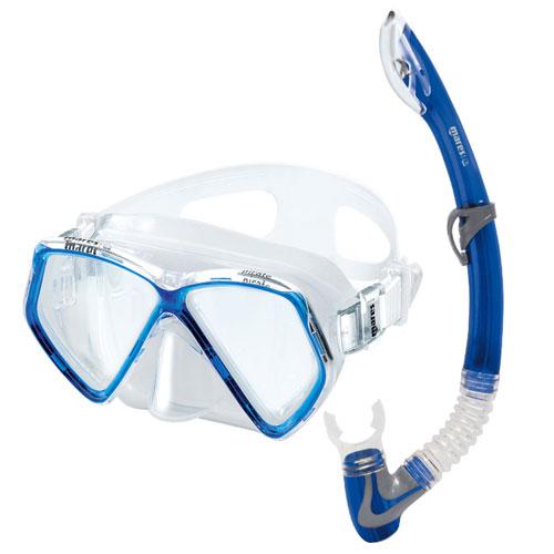 Set Mares Pirate – Maschera + Snorkel – Colore  Blu